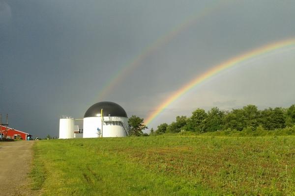 Digester at the end of a rainbow