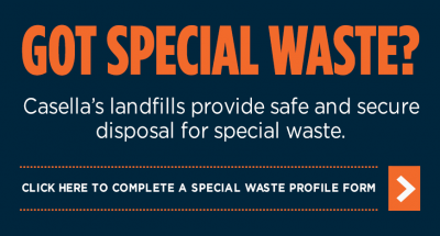 Special Waste - Massachusetts